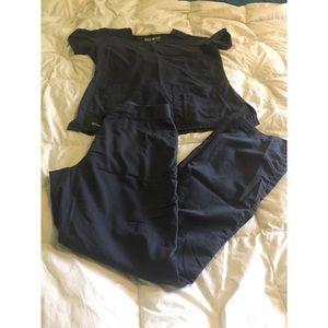 Grey's Anatomy scrubs set size M Tall